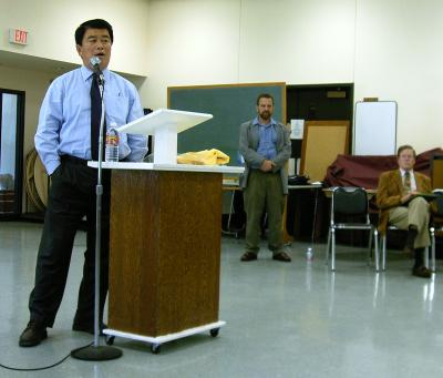 Rep. Wu and other speakers