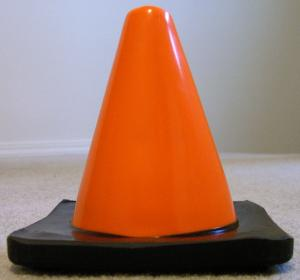 6-inch safety cone