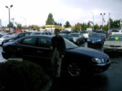 Kyle Markley picking up his new 2006 Buick LaCrosse.
